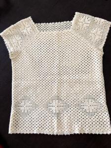 レース編み ニット