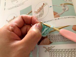 編み物初心者