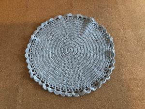 かぎ針編み ラグ