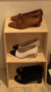 ヴィンテージ ブランド靴