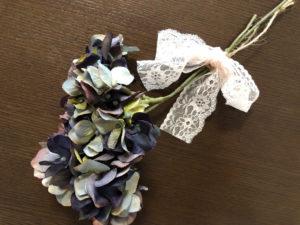 紫陽花 造花