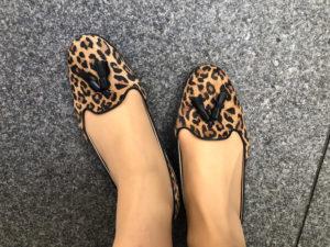 レオパード 靴